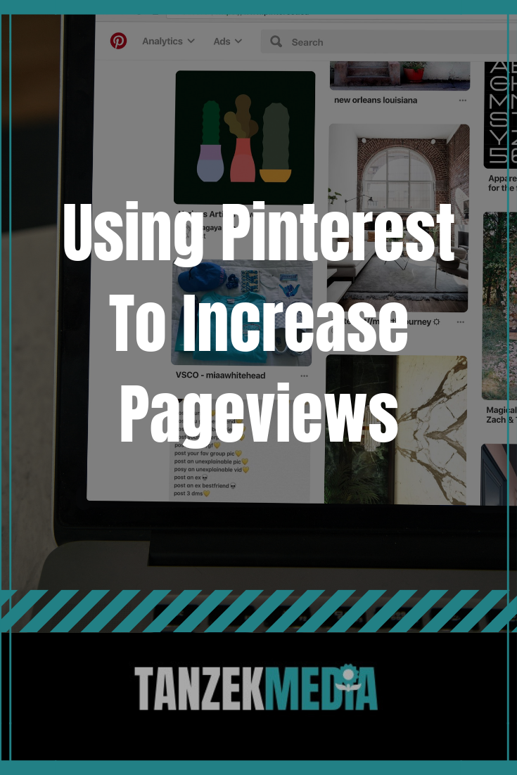 Using Pinterest To Increase Pageviews